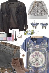 CITY CASUAL WITH COUNTRY STYLE