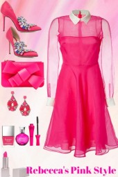 Pink Style 12/3 For Casual Party