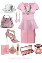 Pink Spring Work Fun Skirts2/25