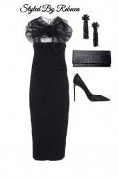 Evening Affair In Black