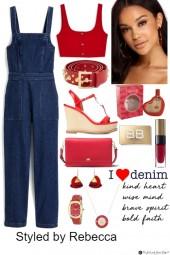 A Denim Red Day