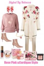 Rose Pink & Cardigan Style