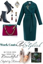 Work coats to be so stylish