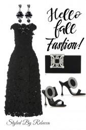 Hello Fall Beauty In Black