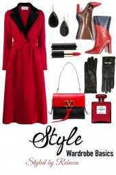 Winter Style Red Coats