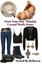 Start Your Day -Monday Casual Jeans