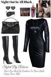 Night Out In All Black 10/25