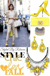 Street Style Chic-Fall Love Of Yellow