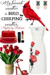 Bird Chirping Beauty