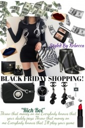 Make Your Daddy Pay -Black Friday Shopping