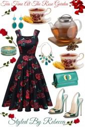 Tea time At The Rose Garden