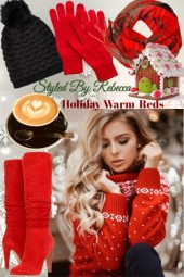 HOLIDAY WARM REDS