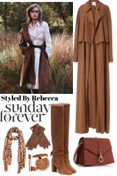Sunday Forever Long Coat