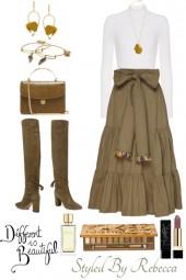 Different Skirts ,Different Flirts