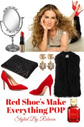 Red Shoes Make Everything POP