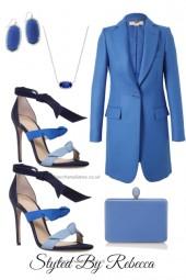 Sorta Busy Blue