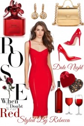 Date Night-Dare To Wear Red