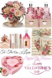 Valentines Day Set Up