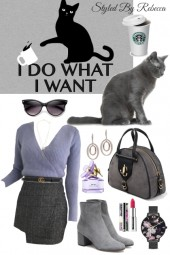 Cat Mom Style