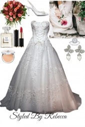 Vintage Corset Wedding Dress