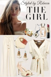 The Girl In Cream
