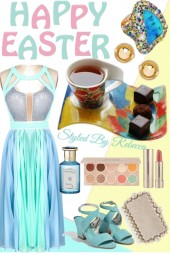 Easter Day And Snacks