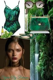 Jungle Jane In Jungle Green