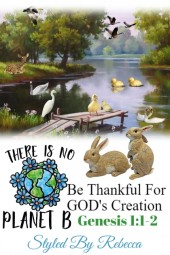 Be Thankful of Genesis 1:1-2 Art