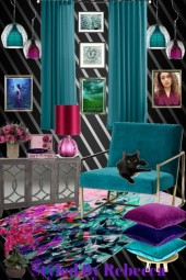 Interior For  Bold  Roommates