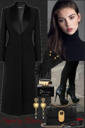 Street Chic,Black Style In The Cold