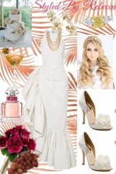 Tropical Wedding Scene