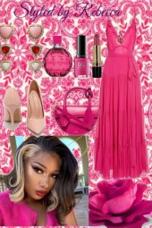 Pink and Beautiful Lady