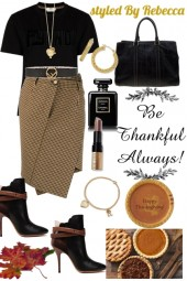 Thanksgiving Day Looks
