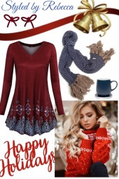 Holiday casual tops 12/2