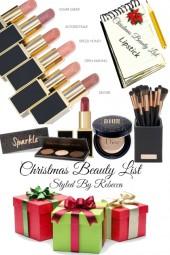 Christmas Beauty List