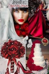 Winter Wedding Red Style