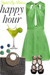 Lime aide happy hour