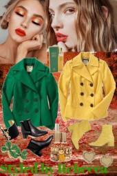Fall Coats -Color Fest