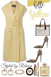March Simple Yellow Style