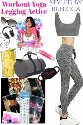 Workout Yoga Legging-The  Active Girl