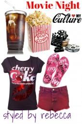 movie night in