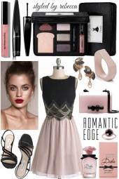Romantic edge date look