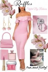 Ruffles in pink