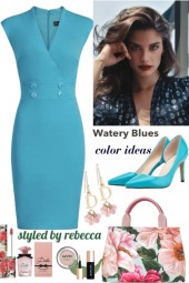color of blue for spring