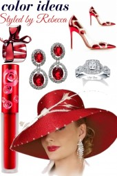 Red-Color Ideas in glam