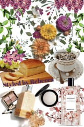 Spring Breakfast and Makeup