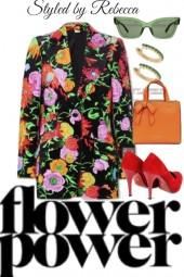 Flower power jacket day