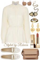 May Tan and White