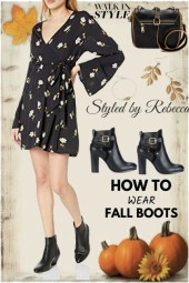 Walk In Boot Style