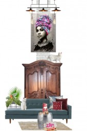 Modern and the French armoire